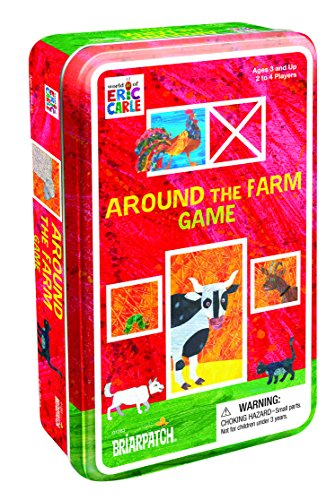 Briar Patch 1407 The World of Eric Carle Around The Farm Game - Farm Tin