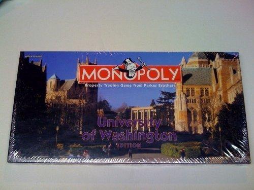 Monopoly  University of Washington edition by UASopoly