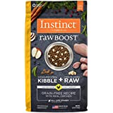 Instinct Raw Boost Grain Free Recipe with Real Chicken Natural Dry Dog Food by Nature's Variety, 4 lb. Bag