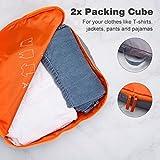 LANGRIA 7 Set Waterproof Packing Cubes Organizers