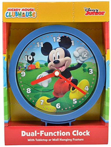 """Mickey Mouse Clubhouse 6"""" Wall or Desk Clock"""