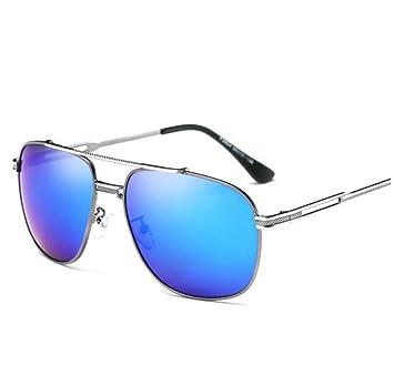 Neue Männer Retro-Quadrat Großen Kasten Polarisierte Sonnenbrille,A1