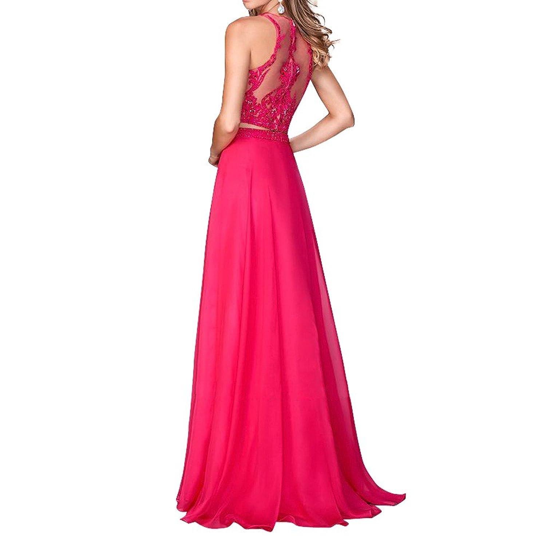 Royaldress Damen Anmutig Zwei-teilig Abendkleider Partykleider ...