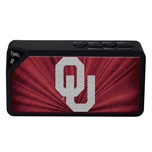 NCAA Oklahoma Sooners BX-100 Bluetooth Speaker, (Oklahoma Player)