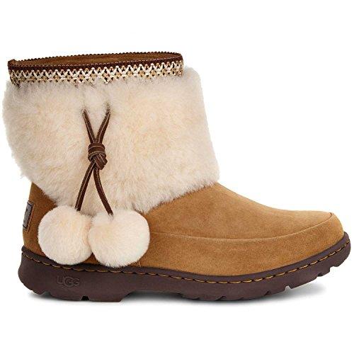 UGG Women's Brie Chestnut Boot 9 B