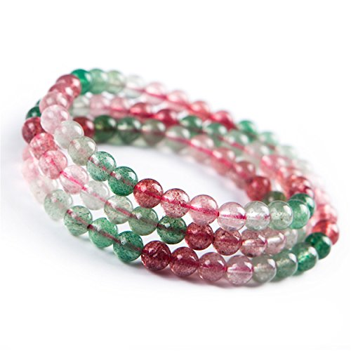 strawberry quartz crystal - 3