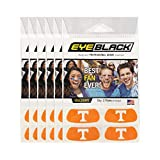 #6: EyeBlack (24 Strips) Tennessee Volunteers Orange Anti Glare Stickers, Great for Fans & Athletes on Game Day