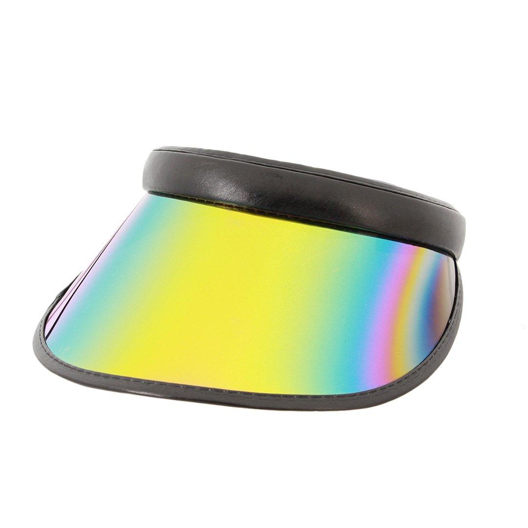 Surkat Women Sun Visors Hologram Wide Brim Thicker Sweatband UV Protective Sportswear Visors Sunhat