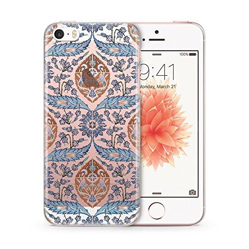 Iznik Muster Orientalisch #03 iPhone 5 | 5S | SE TRANSPARENT SLIM Hülle Hülle Schutz Cover Case Schale Design Orient