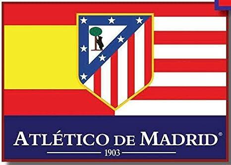 BANDERA ATLETICO DE MADRID MOD2 150X100CM: Amazon.es ...
