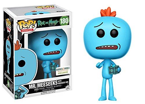 Funko Rick and Morty Mr. Meeseeks with Meeseeks Box Pop Vinyl Figure Exclusive