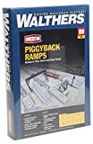 Walthers Cornerstone Piggyback Ramps Kit Train
