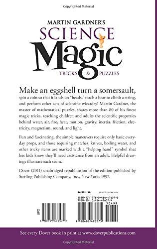 Martin Gardners Science Magic Tricks And Puzzles Dover Books Gardner 9780486476575 Amazon