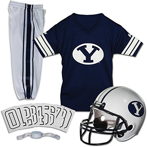 Franklin Sports NCAA Medium BYU Cougars Deluxe Uniform Set -