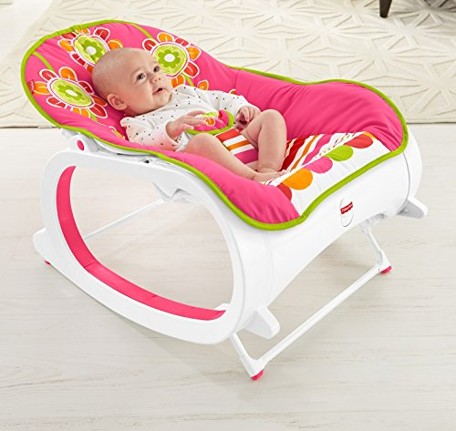 Fisher-Price-Infant-to-Toddler-Rocker-Floral-Confetti
