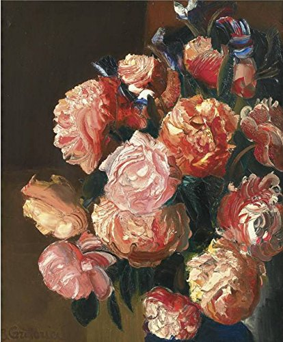 (Wall Art Print Entitled Boris GRIGORIEV, (1886-1939) Bouquet of Flowers by Celestial Images   24 x)