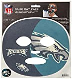 Siskiyou NFL Game Day Face Temporary Tattoo, 18-Ounce