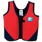 Splash About BJR1 - Chaleco flotador para niños, color rojo / azul marino, 1-3 años