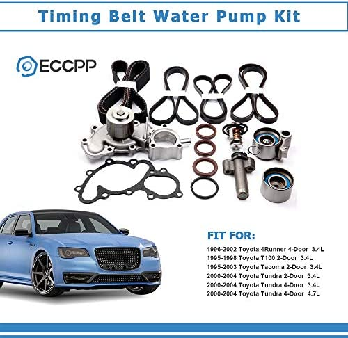 ANGLEWIDE TS26271 ITM271 Timing Belt Water Pump Kits Replacement ...