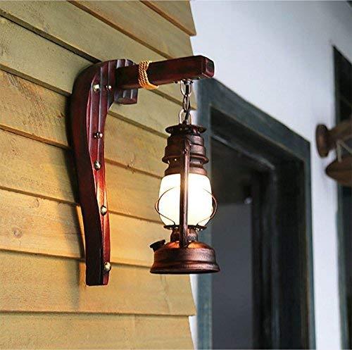 Mariisay Minimalista Lampada da parete Camera da letto Lampada da parete Retro Balcone Antique Wall Turn Signal Left (Colore   Colour-Dimensione)