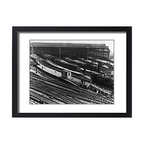 Framed 24x18 Print of Waterloo Station (11803504) (Waterloo Station)