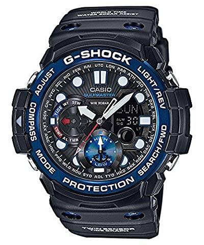 Casio G-Shock Master of G Smoke Dial Resin Quartz Men's Watch GN1000B-1A (Gshock Watches Master Of G)