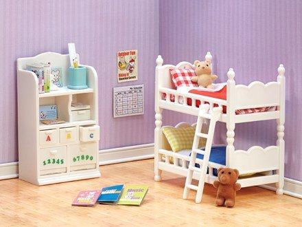 - Calico Critters Deluxe Children's Bedroom Set