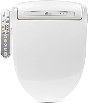 Bio Bidet Prestige BB-800 Electric Bidet Seat for Elongated Toilet White New