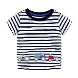 OSYARD Unisex's Shirt, Summer Infant Baby Kids Boys Girls T Shirts Cartoon Print T Shirts Tops Outfits Clothing