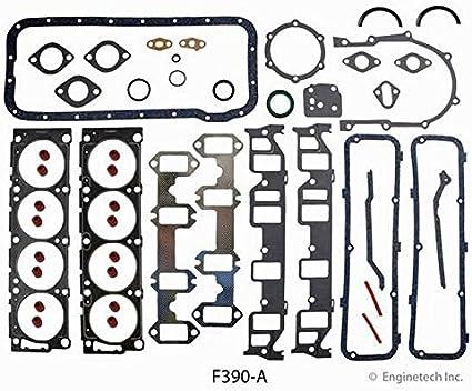 Engine Full Gasket Set Enginetech F390-A