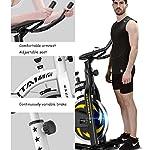 Bici-da-Spinning-Palestra-Biciclette-Ultra-Silenzioso-Indoor-Bikes-Attrezzature-for-Il-Fitness-Allenamento-con-Display-LCD-Color-Black-Size-110-51-115cm