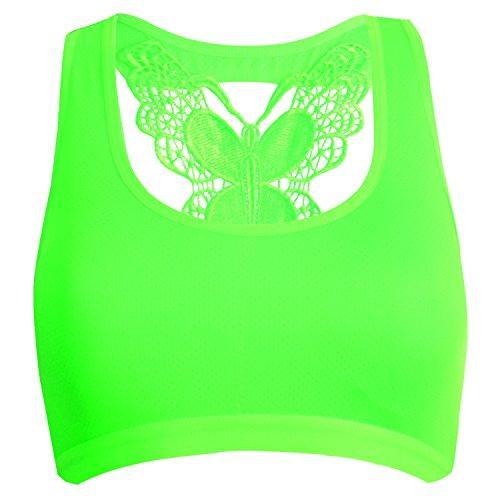 Libella - Sujetador deportivo - Básico - para mujer Schmetterling-Pink