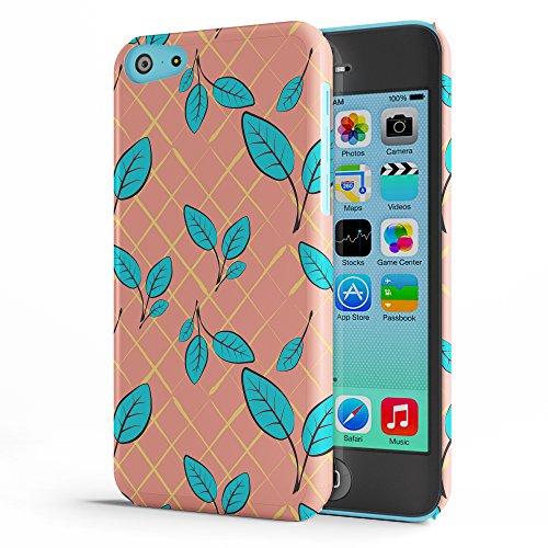 Koveru Back Cover Case for Apple iPhone 5C - Pink-Blue floral