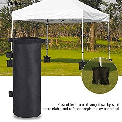 Canopy Weighted Sand Bags Tent Foot Sandbag Support Umbrella Base for Pop-up Sunshade Tent: Sports & Outdoors