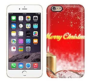 For Iphone 6 Fashion Design Merry Christmas Candles Case by mcsharks