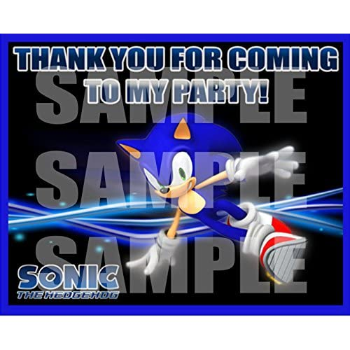 Free Shipping Sonic The Hedgehog Video Game Party Favors Supplies Decorations Gift Bag Label Stickers Only 3 75 X 4 75 12 Pcs Www Milkshakemedia Nyc