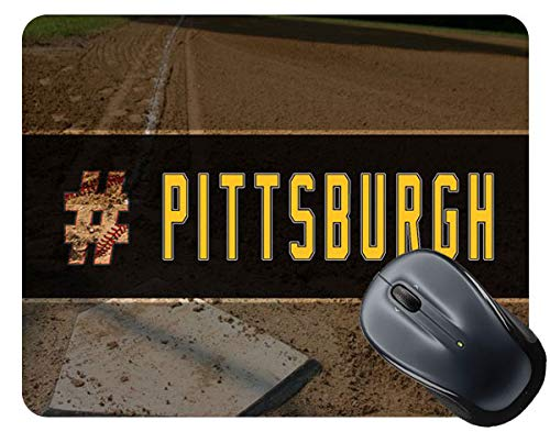 (BRGiftShop Hashtag Pittsburgh #Pittsburgh Baseball Team Square Mouse Pad)