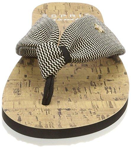 Zigzag Esprit Black Noir Mules Frida Femme w55H67xq1