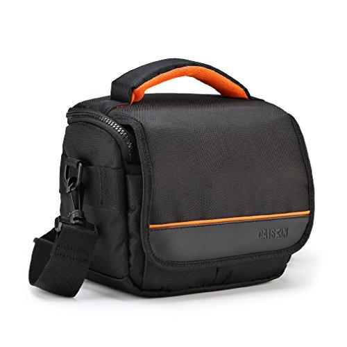 caison camera case shoulder bag for canon eos m50 m100 m3 m5 m6 m10 rebel t7 t6 t5 sl2  nikon