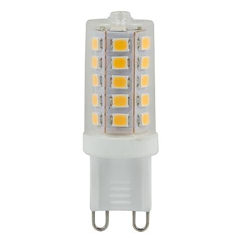 Heitronic LED Leuchtmittel G9, 3W, Warmweiu0026szlig;, Dimmbar ...