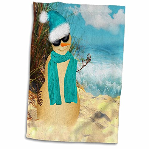 doreen-erhardt-christmas-collection-sandy-beach-sandman-with-ocean-view-fun-spoof-on-a-snowman-11x17