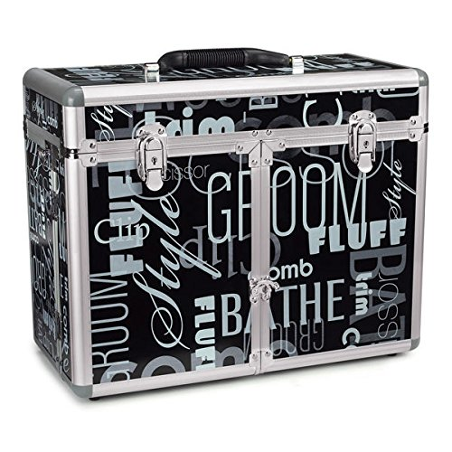 Professional Quality Grooming Tool Organizer Case Purple Chrome or Graffiti(Graffiti - Graffiti Top Performance Print