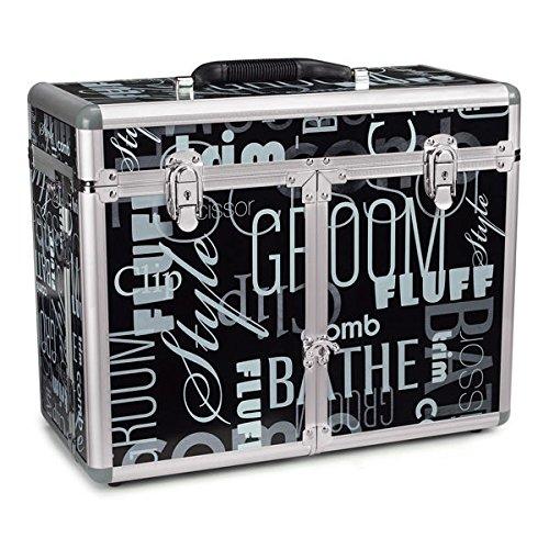 Top Performance Graffiti Print - Professional Quality Grooming Tool Organizer Case Purple Chrome or Graffiti(Graffiti Print)