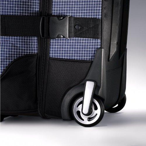 51GCmFMOYyL - Samsonite Luggage Ripstop Wheeled Duffel 30, Blue