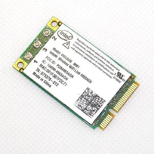 New HP Intel 4965 AGN Wireless-N WiFi Link Mini PCI-E Card 300 Mbps 802.11a/b/g/n 2.4/5 GHz 4965AGN MM1