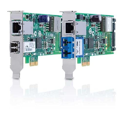 Image of Allied Telesys PCI-Express Dual Port PoE+ Adapter AT-2911GP/SXLC-901 Network Cards