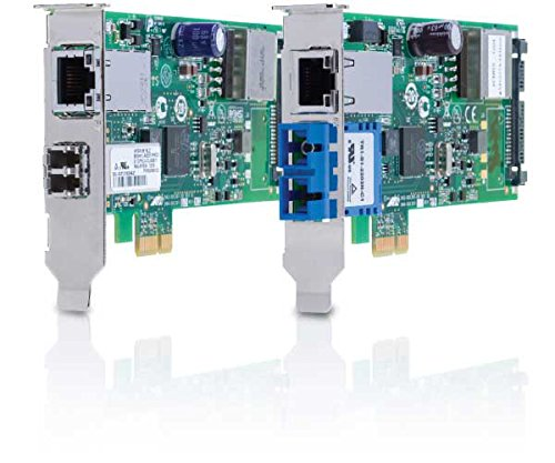Allied Telesys PCI-Express Dual Port PoE+ Adapter AT-2911GP/SXLC-901 by Allied Telesis