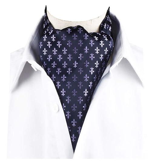Kleidung & Accessoires Streng Polka Dot Cravat Blue Red Black Purple White Silk Blend Wedding Ascot Tie