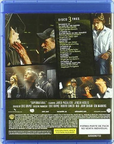 Sobrenatural Temporada 2 Blu-Ray [Blu-ray]: Amazon.es: Varios ...