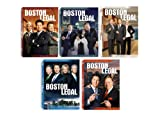 Boston Legal Season 1-5 Complete Collection (DVD)